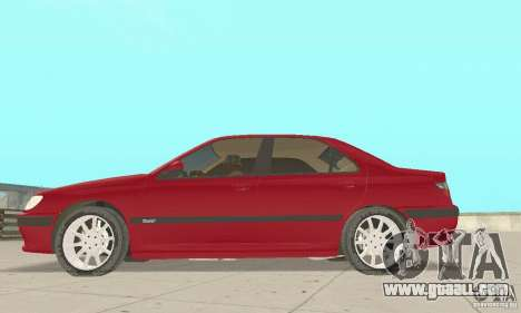 Peugeot 406 stock for GTA San Andreas left view