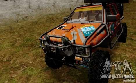 Nissan Navara Off-Road for GTA San Andreas