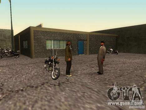 The realistic school bikers v1.0 for GTA San Andreas sixth screenshot