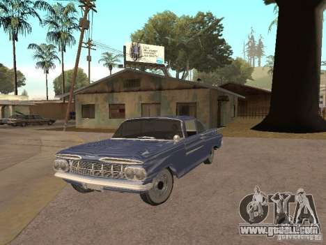Chevrolet Biscayne 1959 for GTA San Andreas