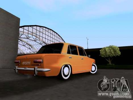 VAZ 2101 Resto for GTA San Andreas back left view