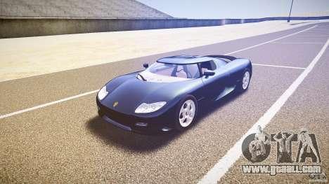 Koenigsegg CC8S 2002 for GTA 4 back view