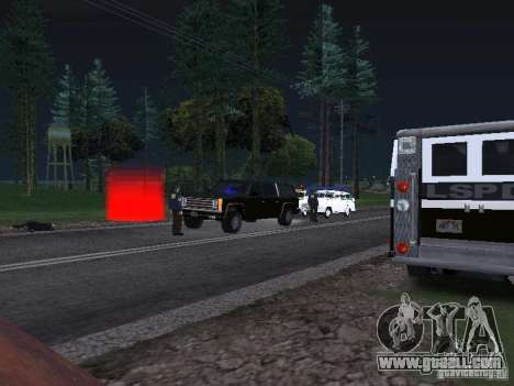 Police Post for GTA San Andreas third screenshot