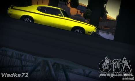 Buick GSX 1970 v1.0 for GTA San Andreas back view
