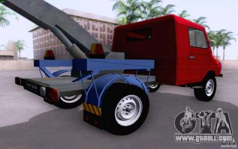 Luaz 13021 tow truck for GTA San Andreas back left view