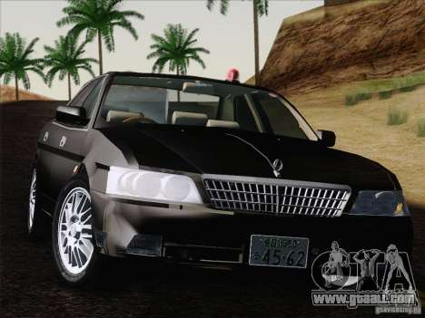 Nissan Laurel GC35 Kouki Unmarked Police Car for GTA San Andreas right view
