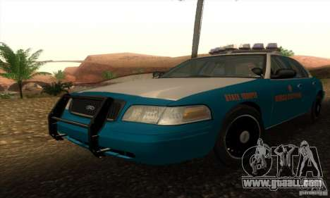 Ford Crown Victoria Georgia Police for GTA San Andreas