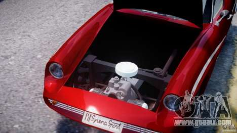 FSO Syrena Sport 1960 for GTA 4 upper view