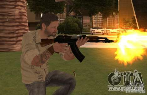 Frank Woods from Call of Duty Black Ops for GTA San Andreas third screenshot