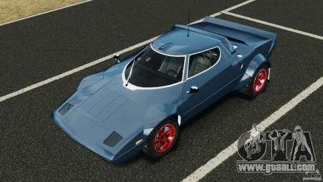 Lancia Stratos v1.1 for GTA 4 upper view