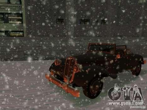 Auto game Sabotage for GTA San Andreas