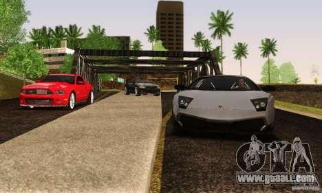 Lamborghini Murcielago LP 670-4 SV for GTA San Andreas back view