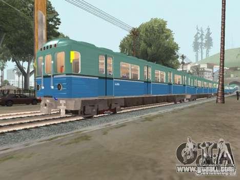 Metro e for GTA San Andreas