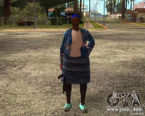 Gangsta Granny for GTA San Andreas sixth screenshot