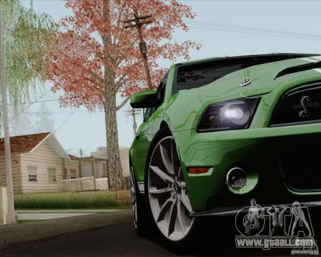 Ford Shelby GT500 Super Snake 2011 for GTA San Andreas side view