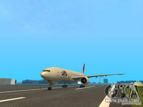 Boeing 777-200 Japan Airlines for GTA San Andreas