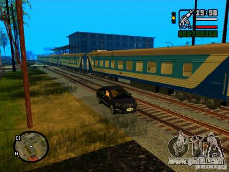 Long train for GTA San Andreas forth screenshot