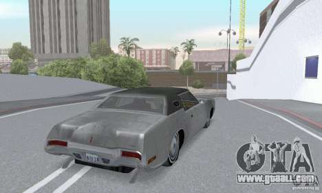 Lincoln Continental Mark IV 1972 for GTA San Andreas side view