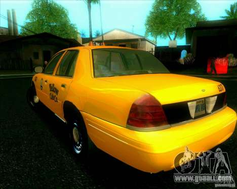 Ford Crown Victoria 2003 TAXI for GTA San Andreas right view
