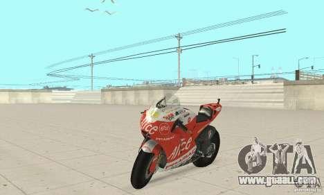 Ducati Alice GP for GTA San Andreas