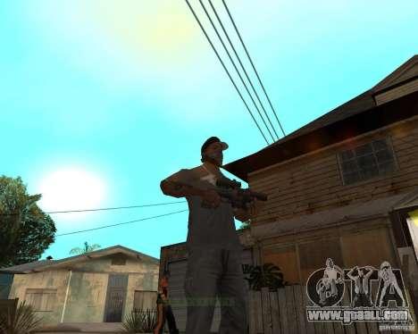 Shotgun in style revolver for GTA San Andreas