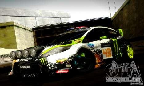 Ford Fiesta Gymkhana 5 for GTA San Andreas