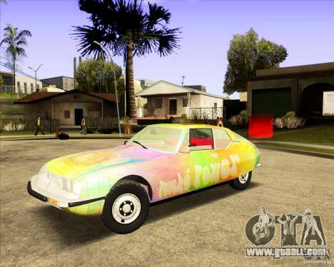 Citroen SM 1971 for GTA San Andreas side view