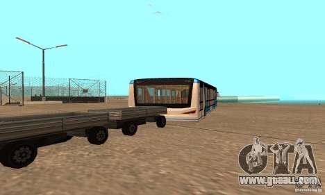 Design X XAPGL for GTA San Andreas back left view