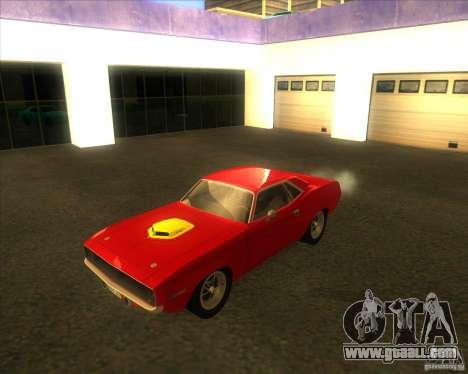 Plymouth Hemi Cuda for GTA San Andreas