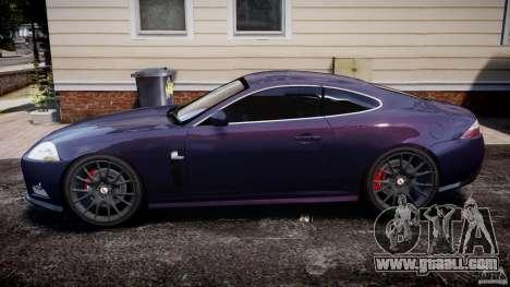Jaguar XKR-S for GTA 4 left view