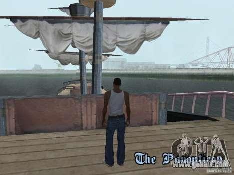 Pirate ship for GTA San Andreas