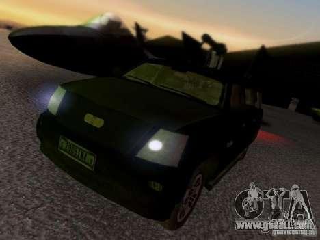 Suv Call Of Duty Modern Warfare 3 for GTA San Andreas