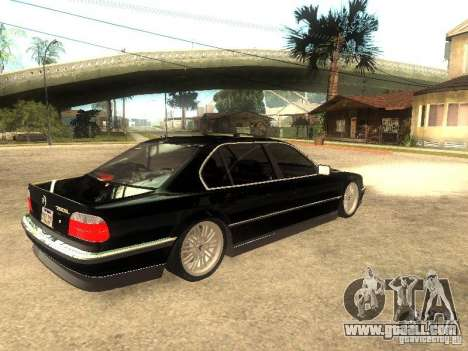 BMW 750iL for GTA San Andreas right view