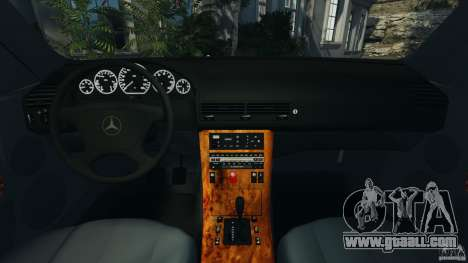 Mercedes-Benz SL 500 AMG 1995 [Final] for GTA 4 back view