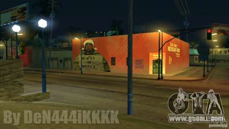Graffiti for GTA San Andreas second screenshot