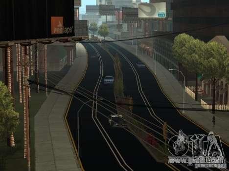 New Roads in San Andreas for GTA San Andreas second screenshot
