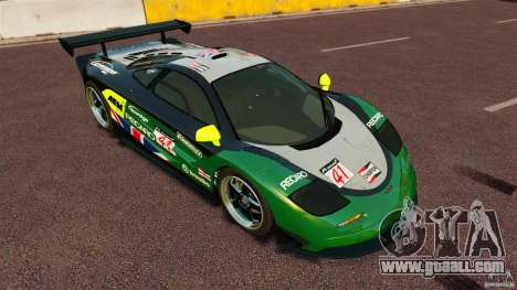 McLaren F1 for GTA 4 right view