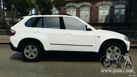 BMW X5 xDrive48i Security Plus for GTA 4 left view