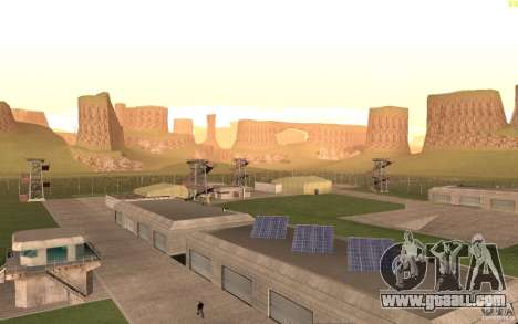New desert for GTA San Andreas fifth screenshot