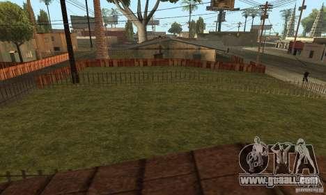Grove Street 2013 v1 for GTA San Andreas seventh screenshot