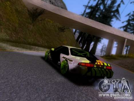 Nissan Silvia S14 Matt Powers v3 for GTA San Andreas left view