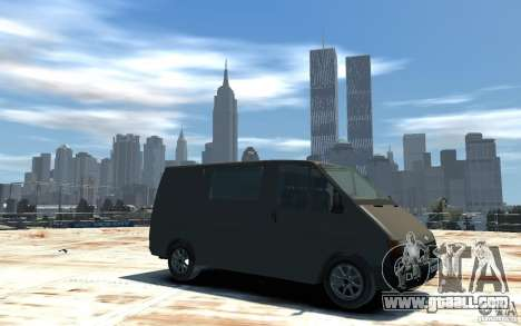 Ford Transit 1999 for GTA 4 right view