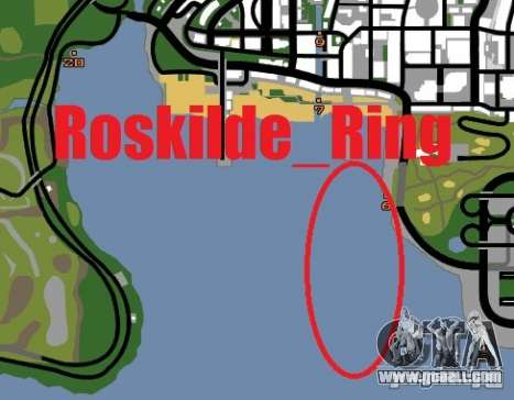 Roskilde ring for GTA San Andreas fifth screenshot