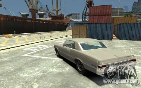 Pontiac GTO v1.1 for GTA 4 back left view
