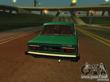 VAZ 2106-seventh Floor for GTA San Andreas right view