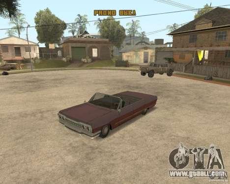 Extreme Car Mod (Single Player) for GTA San Andreas forth screenshot