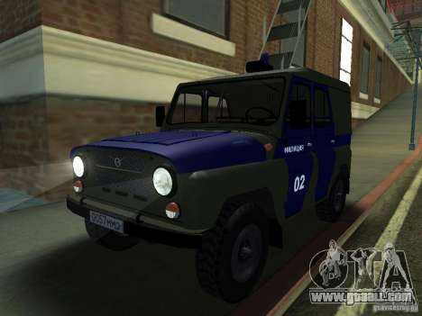 UAZ 3151 Police for GTA San Andreas