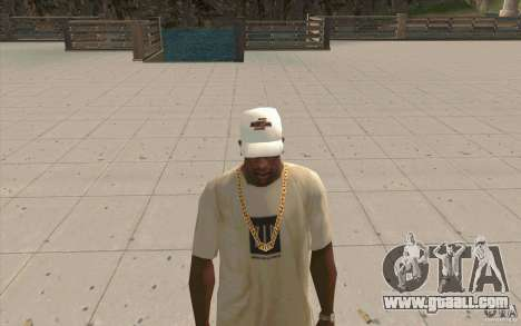 Nfsu2 Cap white for GTA San Andreas second screenshot