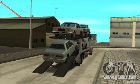 Avtoparkovŝik for GTA San Andreas second screenshot