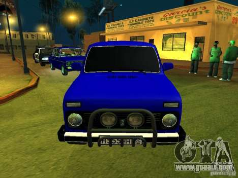 VAZ 21214 Niva for GTA San Andreas left view